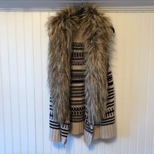 BB Dakota Faux Fur Vest